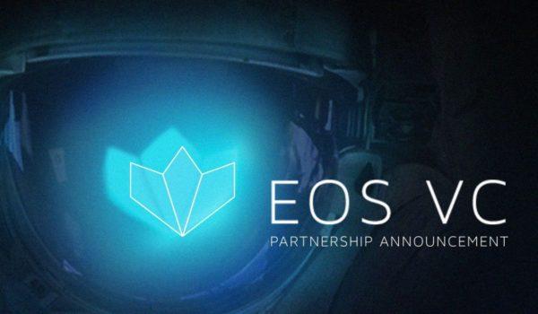 EOS VC logo over an astronaut helmet.